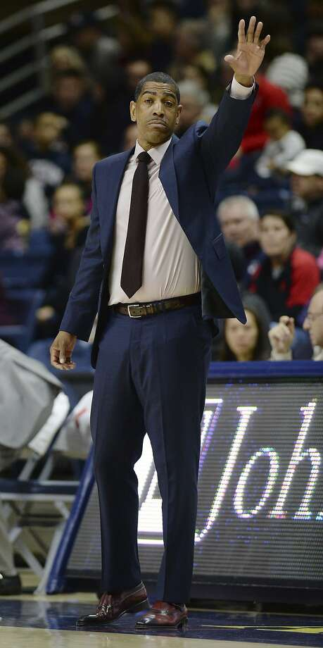 Connecticut head coach Kevin Ollie during the first half an NCAA college basketball game, Sunday, Feb. 25, 2018, in Storrs, Conn. (AP Photo/Jessica Hill) Photo: Jessica Hill, Associated Press