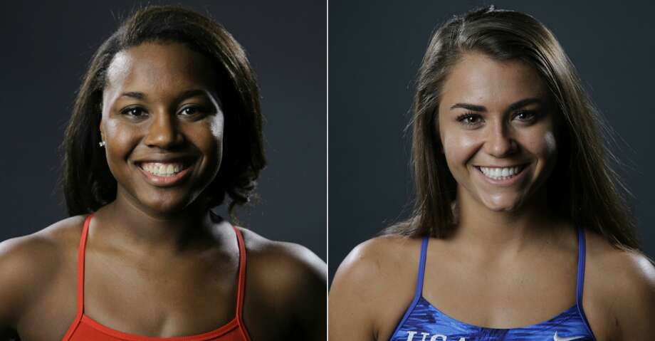 Sugar Land's Simone Manuel and Kassidy Cook of The Woodlands are part of a 19-member squad Stanford is sending to the NCAA Championships. Photo: AP/Getty