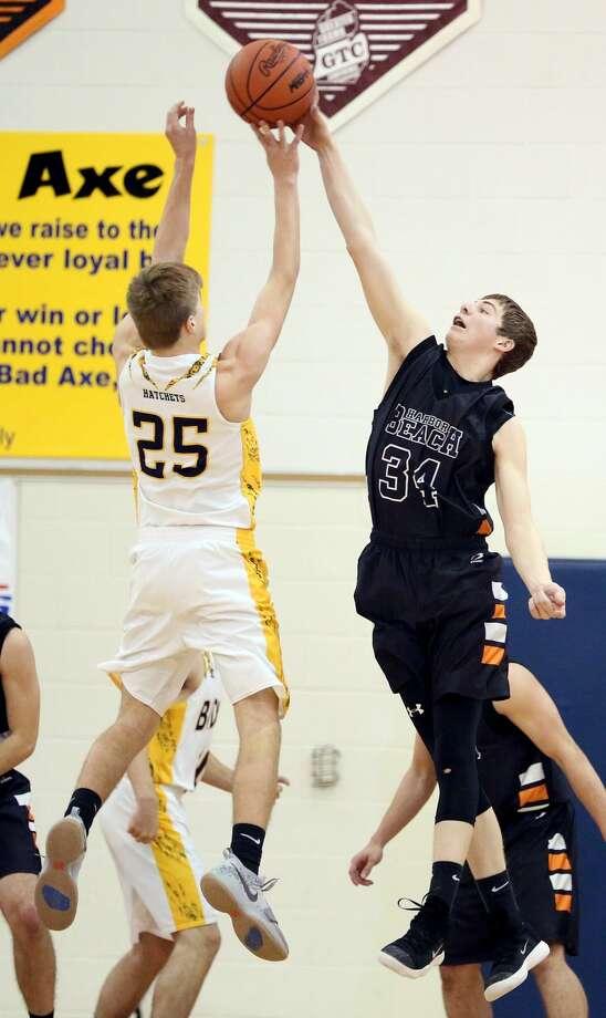 Class C Boys Basketball District Semifinals 2018 Photo: Paul P. Adams/Huron Daily Tribune