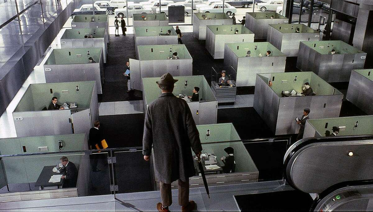 """Jacques Tati wrote, directed and starred in """"Playtime"""" (1967)."""