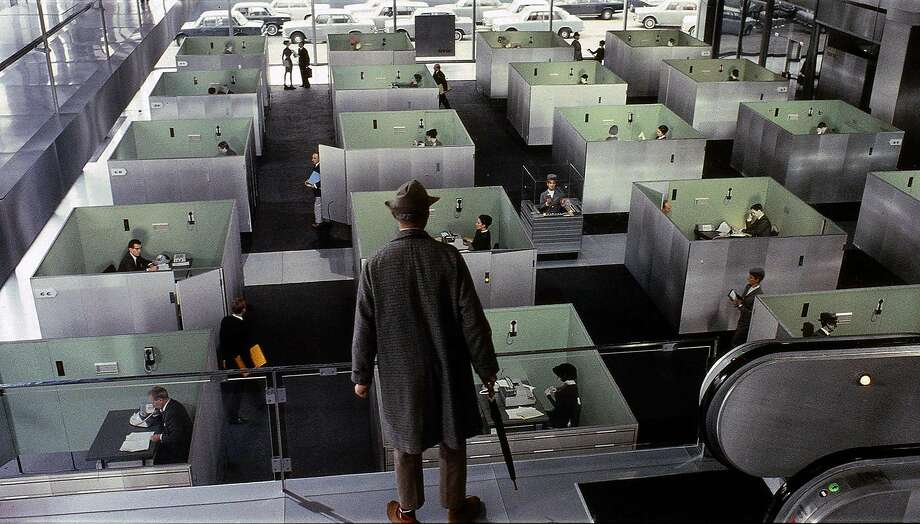 "Jacques Tati wrote, directed and starred in 1967's ""Playtime."" Photo: Janus Films 1967"