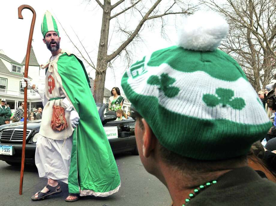 Milford's St. Patrick's Day Parade will take place downtown at 1 p.m. Saturday at River and Broad streets. Find out more. Photo: Hearst Connecticut Media File Photo