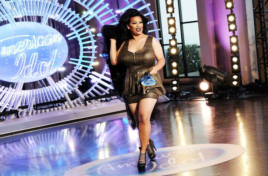 "Ada Vox, San Antonio's ""American Idol"" contestant in drag, made a leggy entrance that she said caught the eye of ""hilarious"" judge Luke Bryan on ABC's reboot. She sized up the judging style of Katy Perry and Lionel Richie as well. Photo: Eddy Chen /ABC / © 2017 American Broadcasting Companies, Inc. All rights reserved."