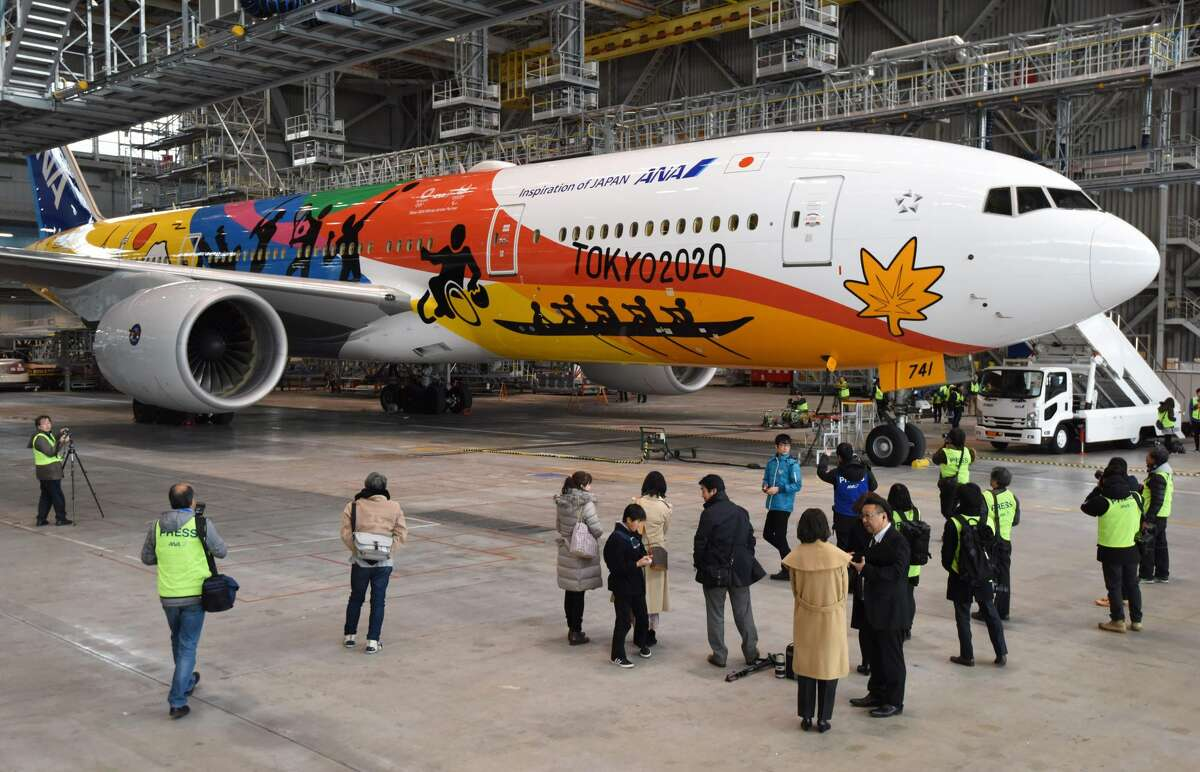 GALLERY: The most colorful airplanes to take the skies Japanese airline All Nippon Airways (ANA) unveils the company's