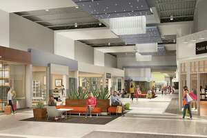 The interior of Katy Mills will undergo a significant renovation beginning in March 2018. Among the changes: The food court will be updated and redesigned into a new Dining Pavilion which will include a fresh color palette; new furniture; family-style seating; new porcelain tile flooring, and LED lighting. Also, new lounge areas with soft seating will be set up to give shoppers a break.