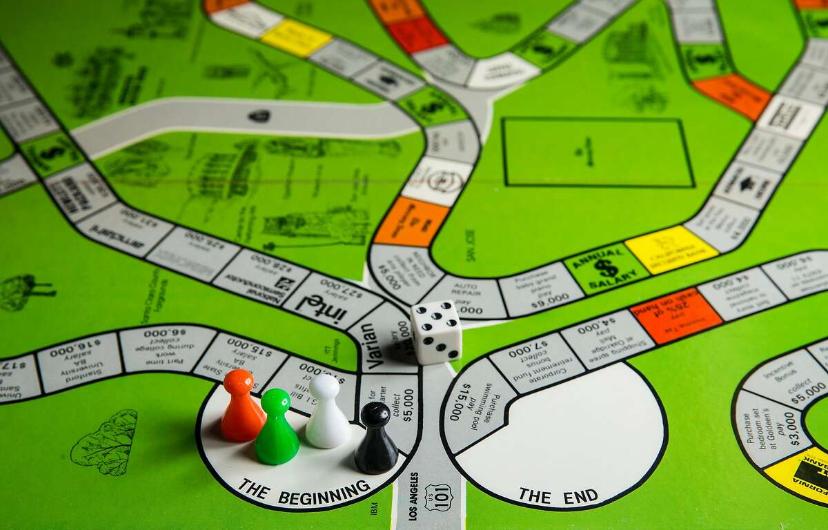 In The Chips: Silicon Valley board game photographed Thursday, March 1, 2018 at the San Francisco Chronicle studio in San Francisco, Calif.