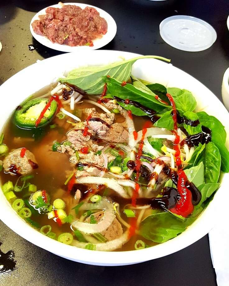 Pho Dien Address: 11830 Bellaire Blvd, Ste C. Yelp Rating: 4 starsPhoto: Tony L./Yelp Photo: Yelp