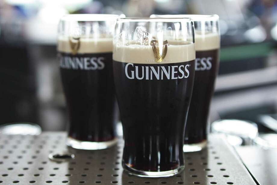Few beers represent their home country as well as Guinness does for Ireland, making it a go-to beer for those celebrating St. Patrick's Day. Photo: Richard I'Anson /Getty Images /Lonely Planet Images / This content is subject to copyright.