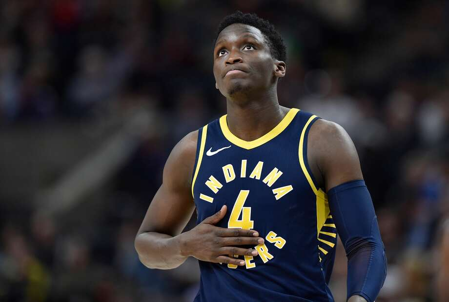 Victor Oladipo gets the edge over Clint Capela for Most Improved. Photo: Gene Sweeney Jr./Getty Images
