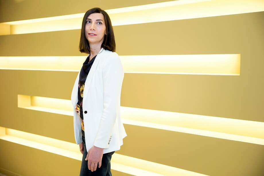 Twist Bioscience CEO Emily Leproust is merging the worlds of silicon and DNA. Photo: Santiago Mejia, The Chronicle