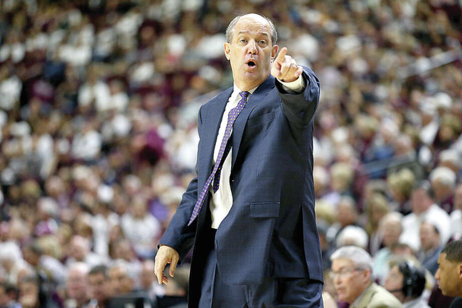 Meadowbrook native and Collinsville High grad Kevin Stalling as men's basketball coach at Pitt Thursday. Photo: AP