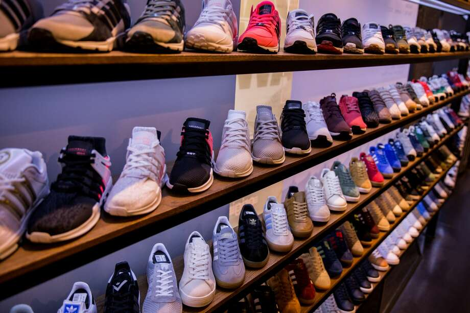 Browse through the photos to see if you can guess which shoes belong to which NBA player.  Photo: Maja Hitij/Getty Images