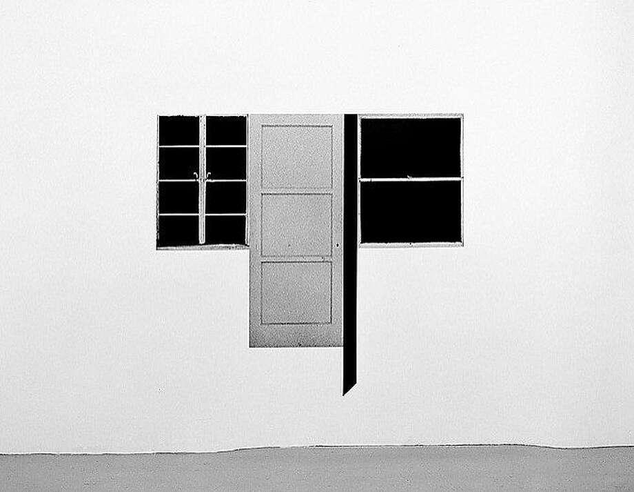 """Steve Kahn, """"Door/Window #6"""" (1978) Photo: Casemore Kirkeby Gallery"""