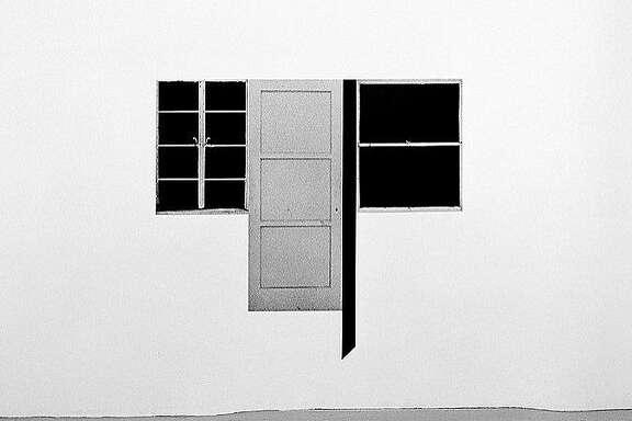 """Steve Kahn, """"Door/Window #6"""" (1978)"""