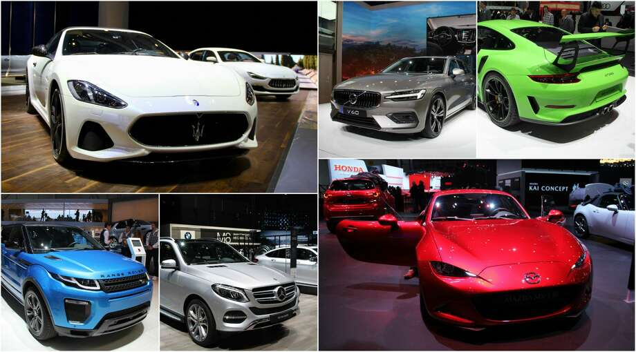 The 88th annual Geneva International Auto Show runs through March 18 in Switzerland. Photo: Getty Images