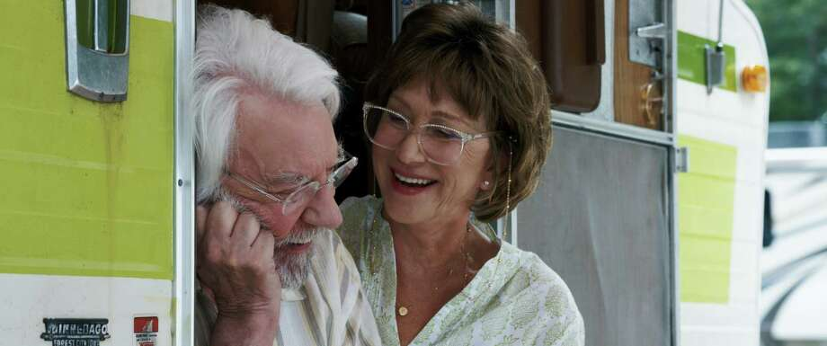 "Donald Sutherland and Helen Mirren star in ""The Leisure Seeker,"" a film directed by Paolo Virzi. Photo: Sony Classics"