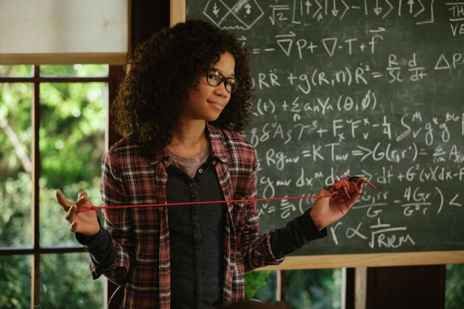 Storm Reid is Meg Murry in Disney's A WRINKLE IN TIME,  an epic adventure based on Madeleine L'Engle's timeless classis. Photo: Photo Credit: Atsushi Nishijima / © 2017 Disney Enterprises, Inc. All Rights Reserved.