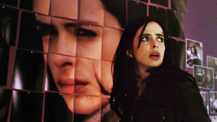 "Krysten Ritter reprises the role of the title character in the second season of ""Jessica Jones."""