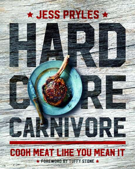 """The cover of Jess Pryles' """"Hardcore Carnivore"""" book, currently in stores. Photo: Photograph From Hardcore Carnivore By Jess Pryles, Photo © Mark Roper, Courtesy Of Murdoch Books"""