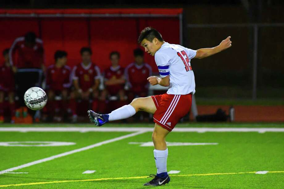 Three-year letterman senior midfielder Connor Yeang is a super versatile and technical player who can play anywhere, makes good choices and puts quality touches on the ball. Photo: Tony Gaines/ HCN, Staff / Houston Chronicle