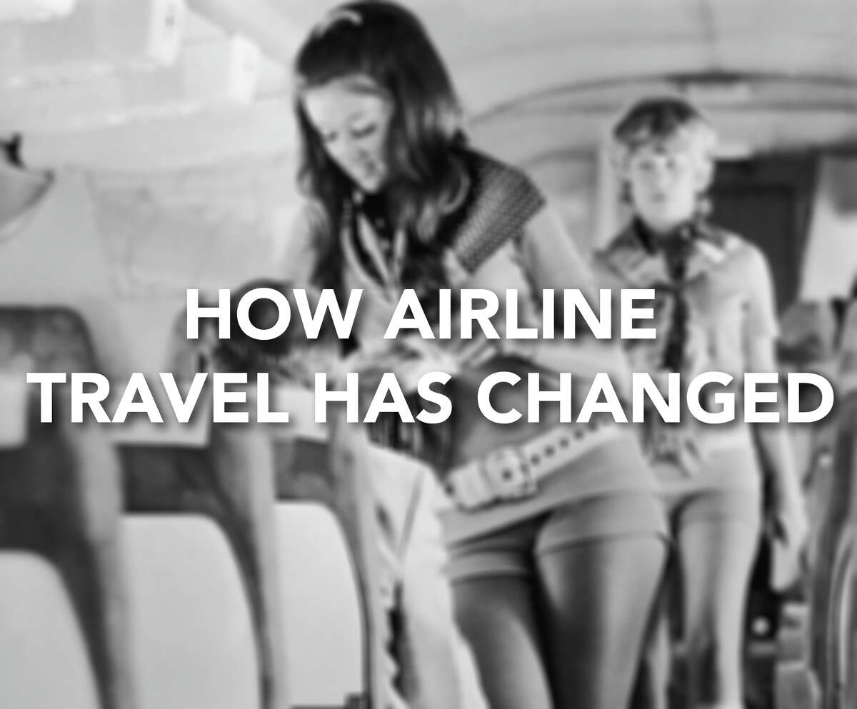 How has airline travel changed through the decades? Click through to find out how different air travel looked way back when.