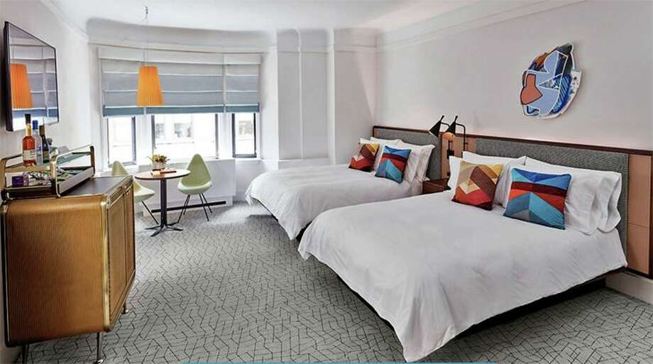 A room at the new James Hotel-NoMad in New York. (Image: James Hotels) Photo: James Hotels