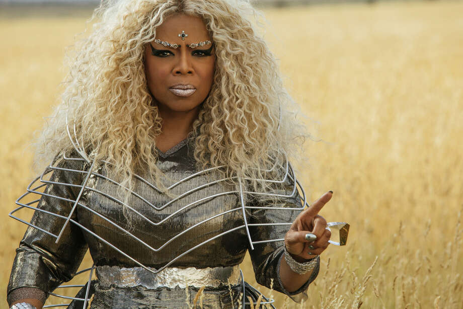"This image released by Disney shows Oprah Winfrey in a scene from ""A Wrinkle In Time."" (Atsushi Nishijima/Disney via AP) Photo: Atsushi Nishijima / © 2017 Disney Enterprises, Inc. All Rights Reserved."
