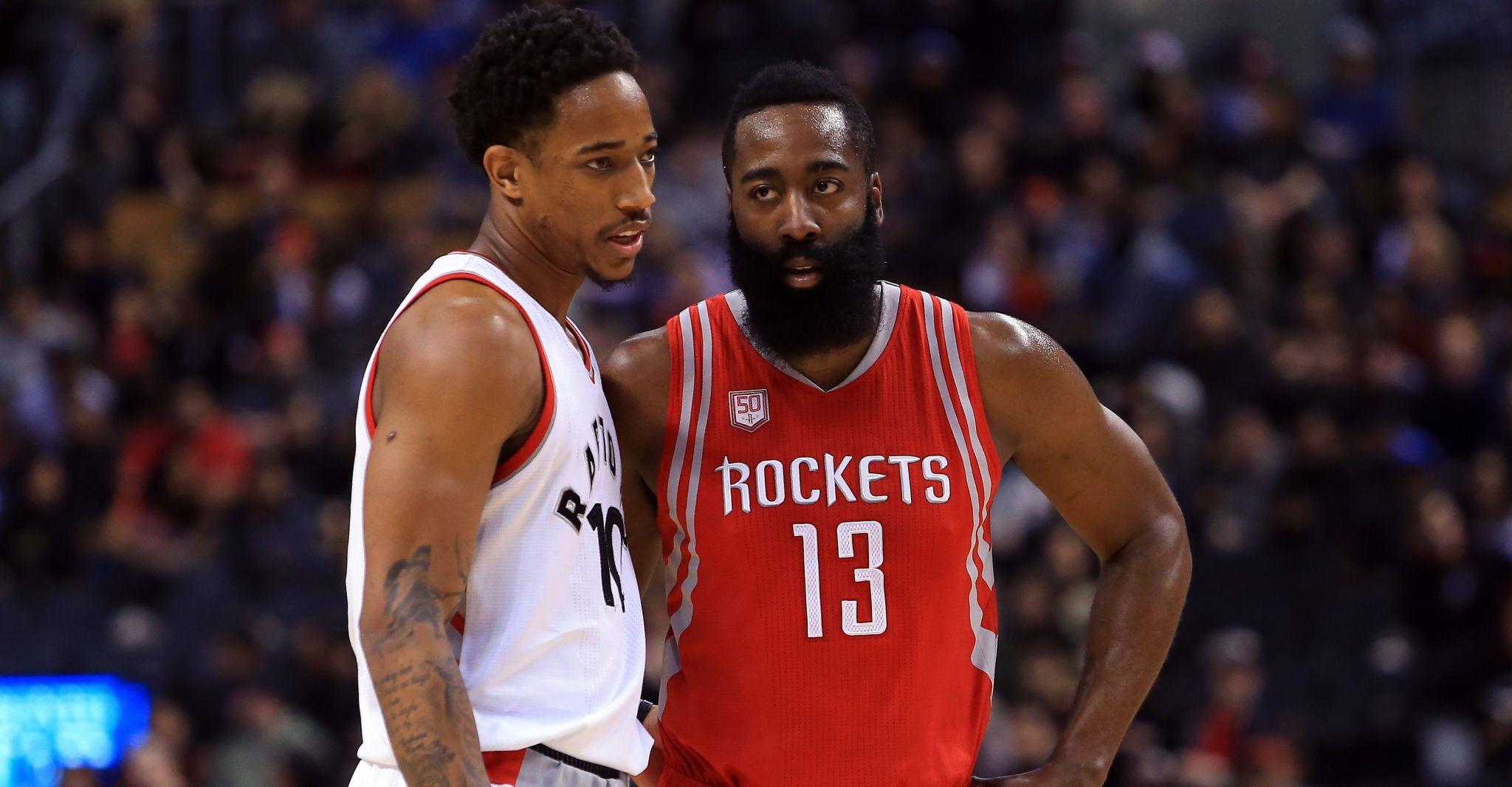 773b9c1b1f7f Raptors All-Star DeMar DeRozan  Rockets  James Harden  a lock  to win MVP