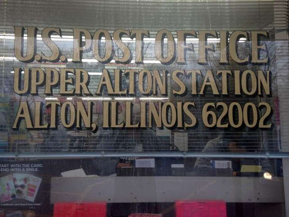 "The Upper Alton post office, or ""station"" has a lease at Washington Square through April 2020. Photo: Linda N. Weller 