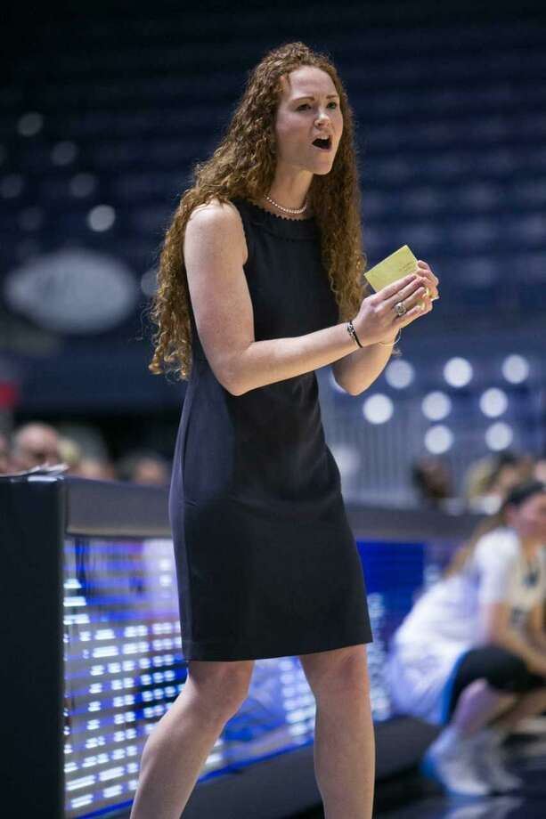 Kate Lynch, who helped lead the Southern Connecticut State University women's basketball team to the Division II national championship in 2007, has led the Owls back to the NCAA tournament as head coach. Photo: SCSU Athletics