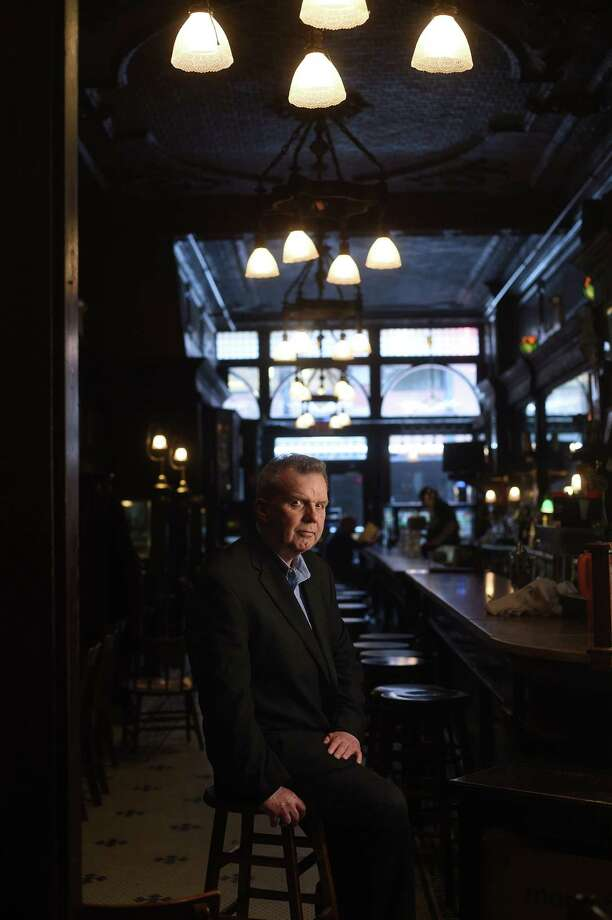 Niall O'Dowd, 64, at the Old Town Bar near Union Square in Manhattan, where he once met members of the Irish Republican Army to discuss peace deals. Photo: Photo For The Washington Post By Astrid Riecken / For The Washington Post