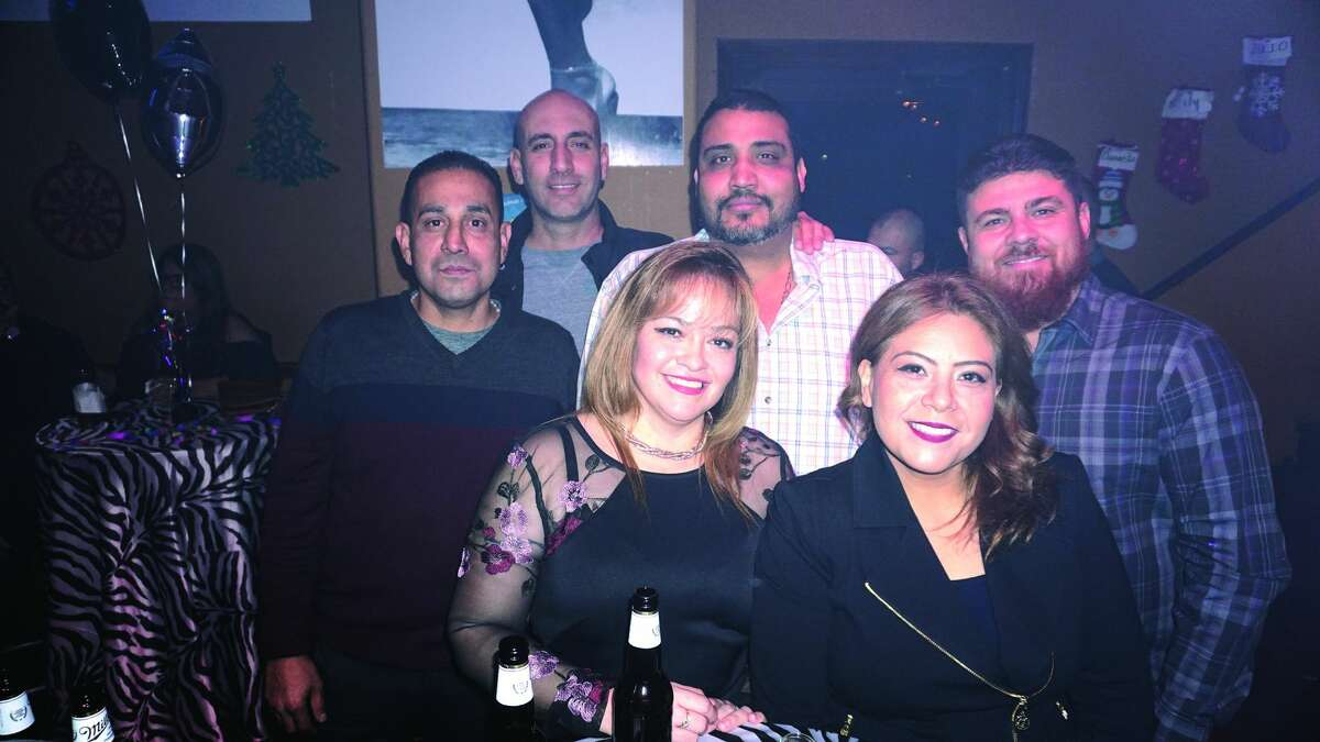 Frank Rodriguez, Mau Murillo, Sam and Cyndi Chavez, Tirso and Delilah Martinez at Planeta 80 Bar & Grill Friday, March 9, 2018