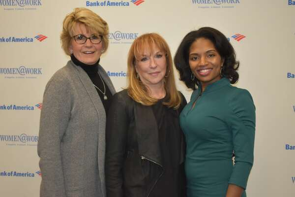 """Were you seen at Women@Work's """"Your Financial Future"""" presented by Bank of America at the Hearst Media Center on March 8, 2018?  Not a member of Women@Work yet? Join today at   womenatworkny.com/checkout/"""