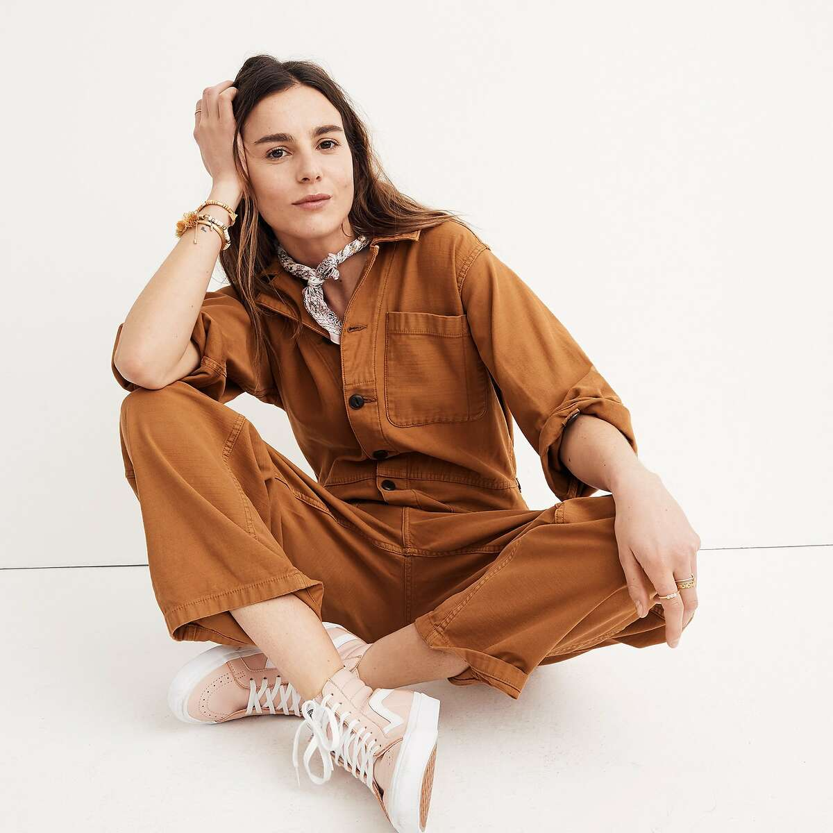 Mark Kolski�s one-of-a-kind vintage reconstructed jumpsuits speak to the Madewell woman�artful, timelessly cool, and a bit of a tomboy ($175-$350, Madewell, 850 Market Street, S.F.)