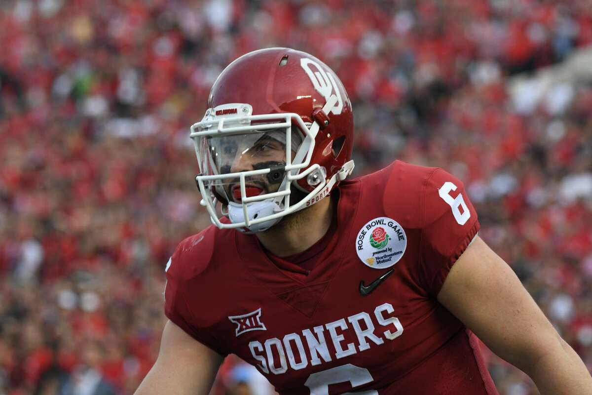 3. New York Jets McClain:Baker Mayfield, QB, Oklahoma He's cocky enough to handle the New York pressure. Wilson:Baker Mayfield, QB, Oklahoma Swaggering, undersized QB with chip on his shoulder is now Broadway Baker.