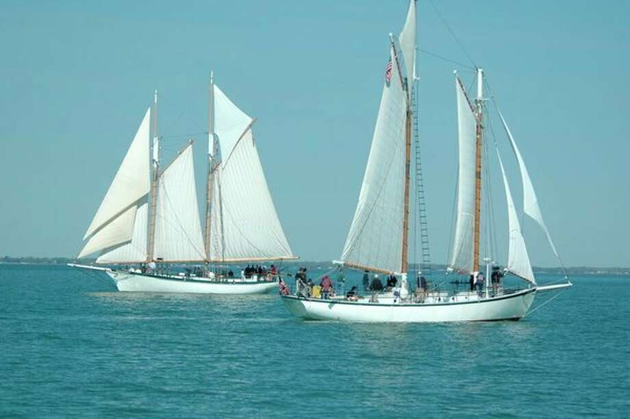 The schooners Appledore IV and Appledore V. (Photo provided)