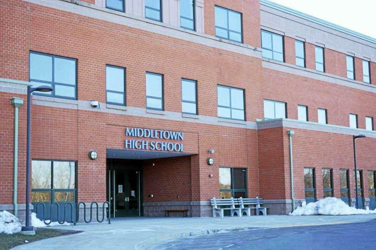 Middletown High School on LaRosa Lane