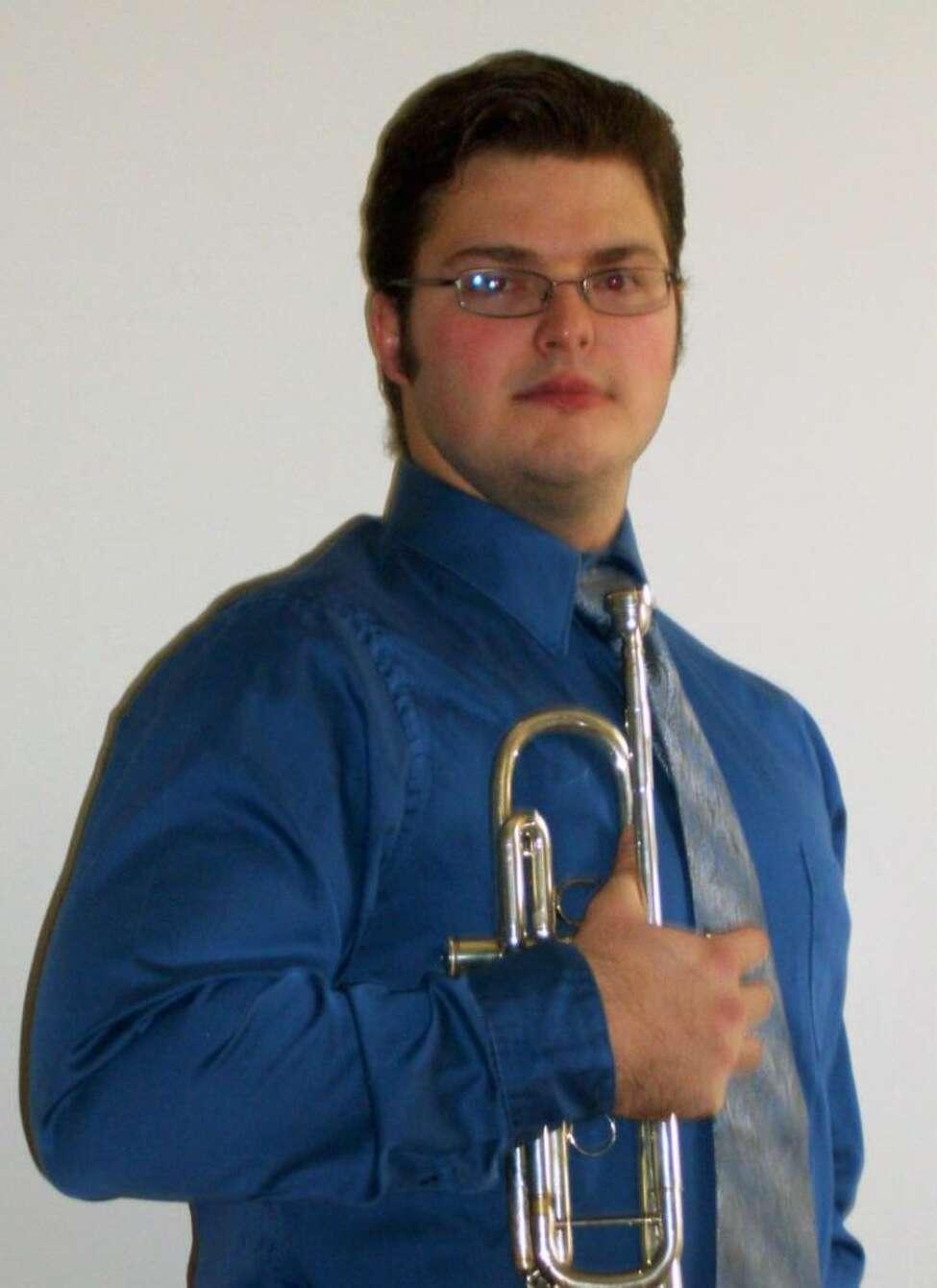 Juilliard student-trumpeter Colin Sieg.