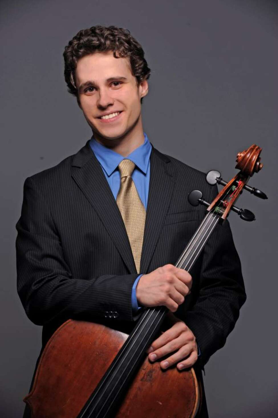 Juilliard student-cellist Dane Johanson.
