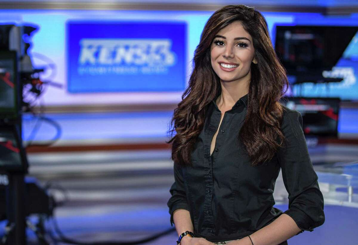 KENS-TV's Niku Kazori was hired in late November as a multimedia journalist, but currently embraces her role as morning traffic anchor.