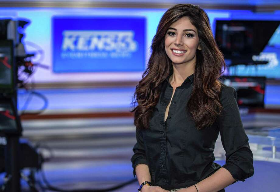 KENS-TV's Niku Kazori was hired in late November as a multimedia journalist, but currently embraces her role as morning traffic anchor. Photo: Courtesy Photo