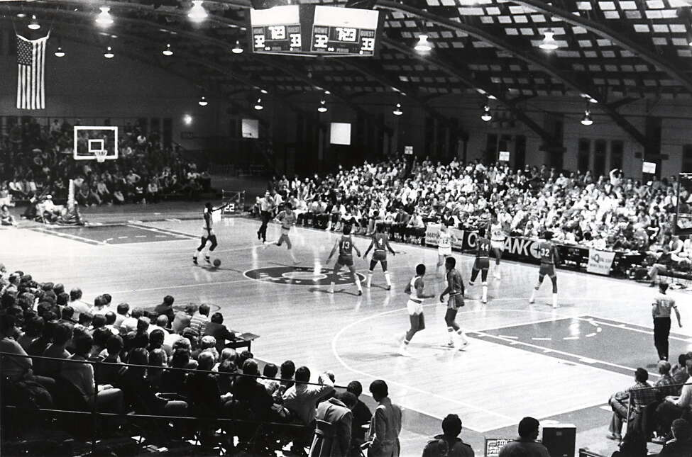 Continue viewing the slideshow to see more photos of the Albany Patroons over the years. Albany Patroons basketball game on March 14, 1983. (Times Union archive)