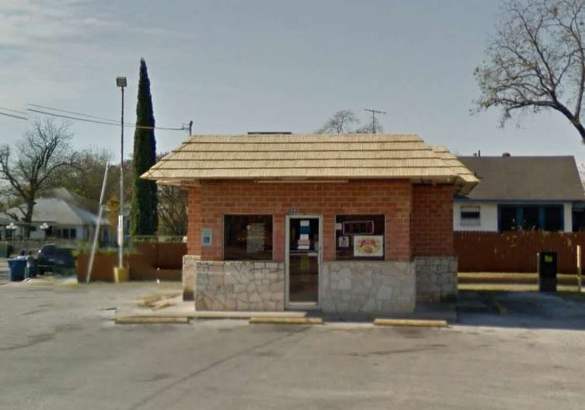 Fred's Fish Fry #2: 603 N. Zarzamora St., San Antonio, TX 78207 Date: 07/17/2018 Score: 81 Highlights: Inspector noted that food employees may not contact exposed, ready-to-eat food with their bare hands, establishment needs to repair hole in ceiling, need to clean the fryer exhaust vent, walk-in freezer was locked, use suitable utensils and that french fry bags are a single-use item and should not be re-used.