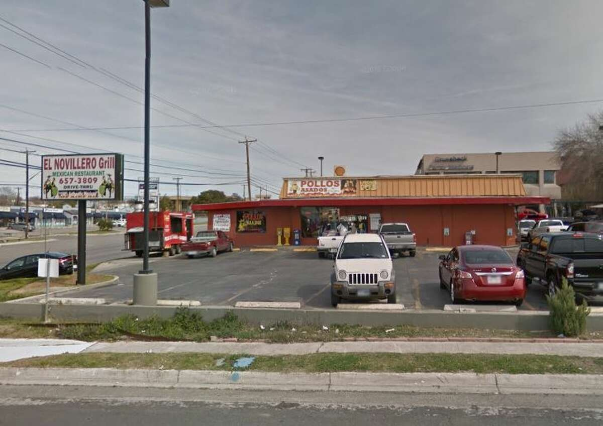 Taqueria El Novillero Jalisco Mexican Restaurant: 12400 Nacogdoches Road, San Antonio Date: 06/28/2019 Score: 76 Highlights: Inspectors observed knives stored in a dirty block. Raw meat was stored above ready-to-eat foods in a walk-in cooler. There were containers of flour, salt, and other ingredients with no label. A cold-hold unit was at 58 degrees instead of the mandated 41 degrees or below. There was no hand-sink in the kitchen.