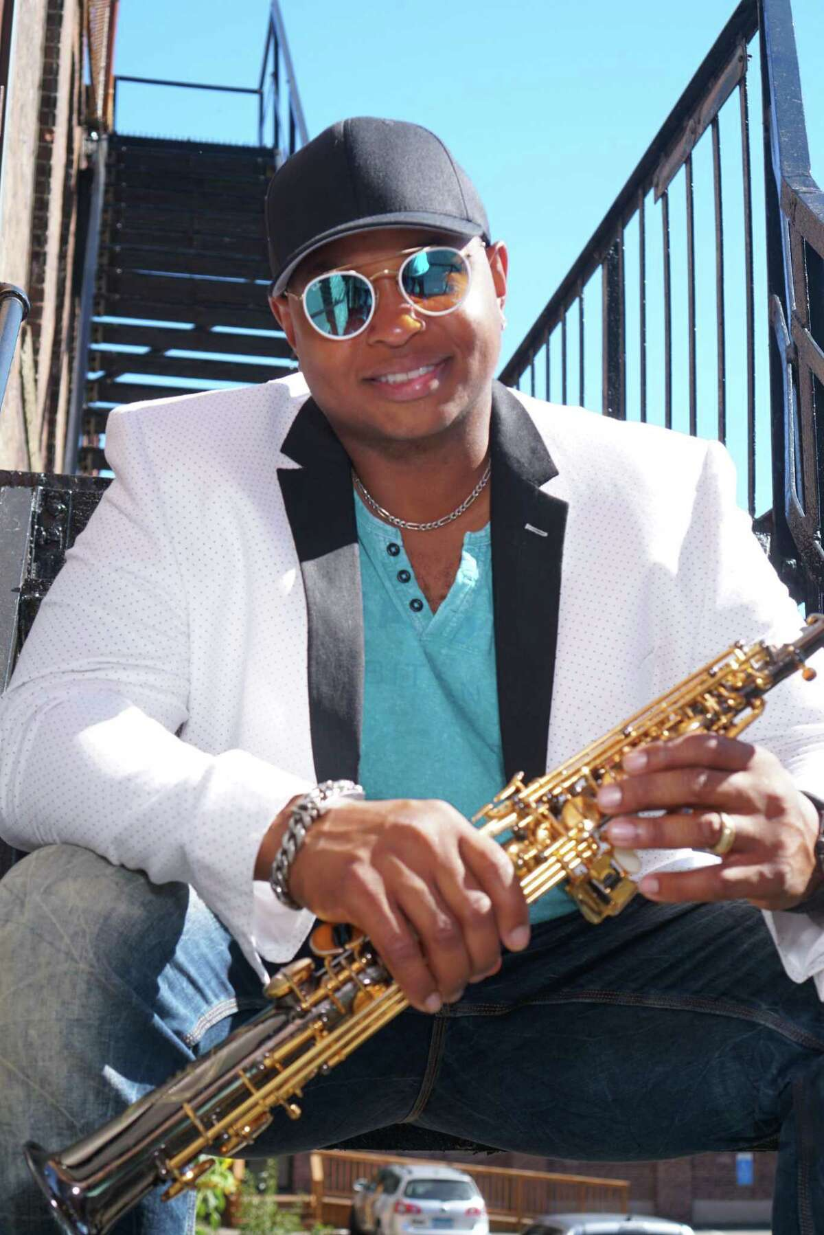 """Jazz saxophonist David Davis, who grew up in Stamford, has a new CD out, """"Dig This!,"""" which illustrates the diversity of the music he likes to explore."""