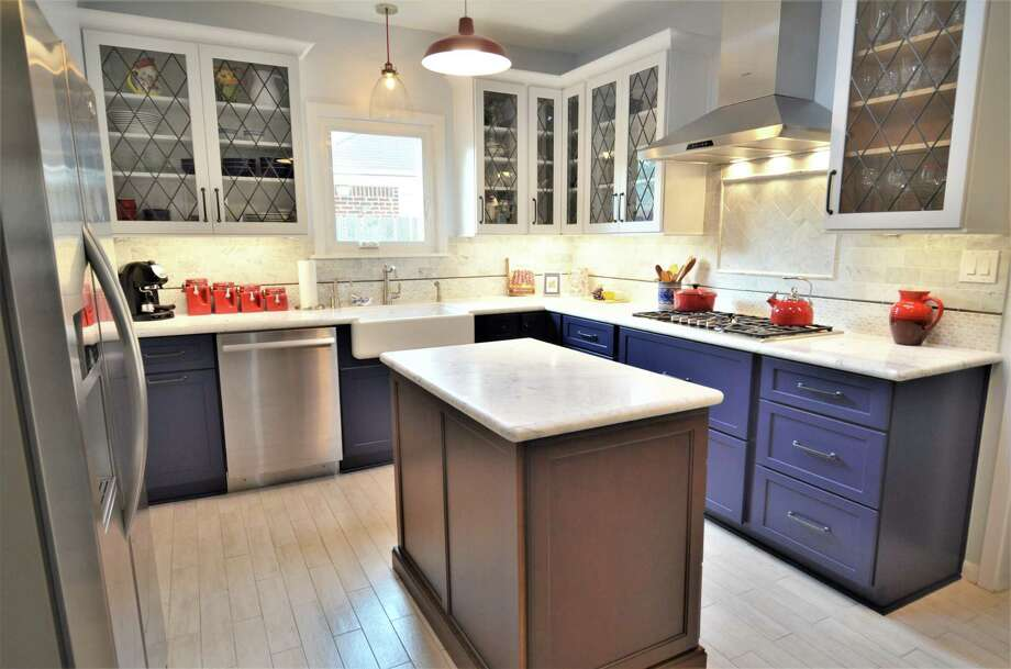 This remodeled kitchen was done by Legal Eagle Contractors. Photo: Courtesy Of Legal Eagle Contractors