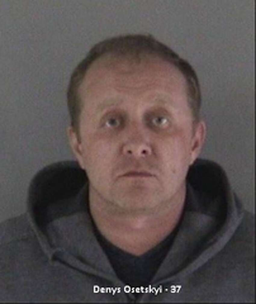 Denys Oestski, 37, of Valley Village. Four men were arrested in Fremont in connection with a criminal skimming ring operating in the Bay Area.