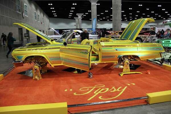 Show is Imperials Car Club's Tipsy custom.