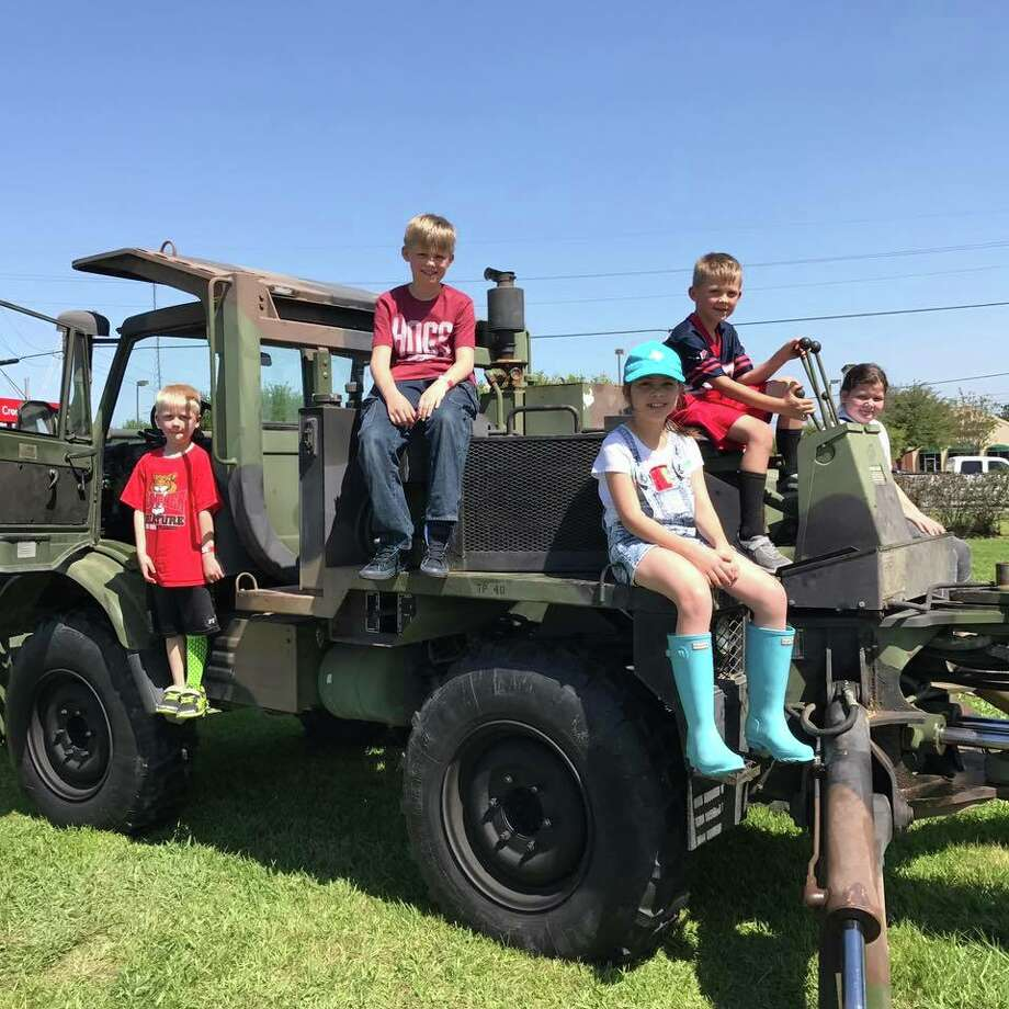 2017 Kids on a Big Rig event. Photo: Crosby Education Foundation