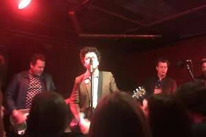 """Billie Joe Armstrong and his band the Coverups, a side project with his fellow Green Day members, performed a """"secret show"""" at Thee Parkside in San Francisco on Thursday, March 8."""